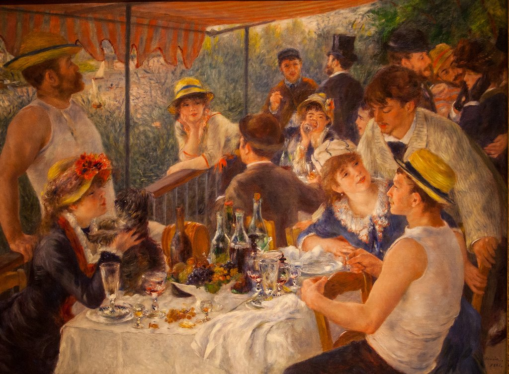 The luncheon party-Renoir